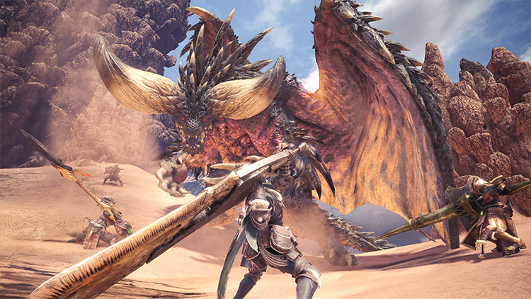 beste Game release van Januari 2018: Monster Hunter: World